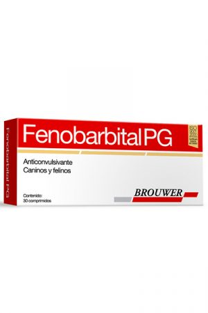 Fenobarbital PG 40mg Uso Veterinario